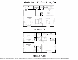 5x8 Bathroom Floor Plan by San Jose Central Townhouses And Condos