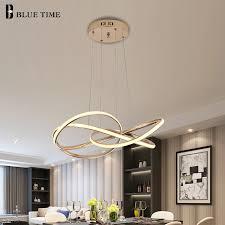 gold grau chrom moderne led kronleuchter für wohnzimmer esszimmer app kontrolle hängen innen beleuchtung decke kronleuchter le