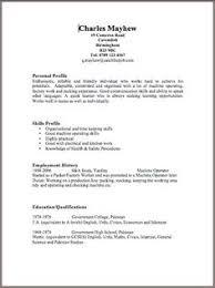 Free Resume Templates Uk
