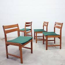 Set Of 4 Danish Teak Table Chairs - 1960s - Design Market Danish Teak Table Chairs Wild Things Antiques Splendid Scdinavian Fniture Olje Deck Design Sleek And Simple Lines Vintage Round Ding Six 1960s By Niels Kfoed At 1stdibs And Correct Way To Setteak Fnitures Modern Teak Ding Chairs Chair Restoration 4 Person Set Fascating Cottage Fantastic 1950s Oak Hans Wegner For