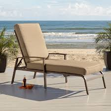 Stack Sling Patio Lounge Chair Tan by Chaise Lounge Chairs Patio Lounge Chairs Kmart