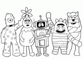 Nick Jr Characters For Coloring Pages