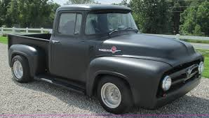 1956 Ford F100 Pickup Truck | Item AY9836 | SOLD! August 26 ... 1956 Ford F100 Panel Hot Rod Network Classic Cars For Sale Michigan Muscle Old Ford F800 Alto Ga 977261 Cmialucktradercom Pickup Allsteel Truck Sale Hrodhotline 2door Pickup Big Back Window Original V8 Fordomatic Big Window Truck Project 53545556 Rides Pinterest Trucks And Trucks Coe Accsories 4clt01o1956fordf100piuptruckcustomfrontbumper