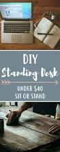 Lifehacker Standing Desk Diy by The 25 Best Best Standing Desk Ideas On Pinterest Sit Stand