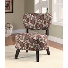 Shop Casual Upholstered Accent Chair - Grey/ Red Oblong Pattern ... Accent Chairs Armchairs Swivel More Lowes Canada Brightly Colored Best Home Design 2018 Skyline Fniture Swoop Traditional Arm Chair Polyester Armless Amazoncom Changjie Cushioned Linen Settee Loveseat Sofa Powell Diana In Black White Floral Red Barrel Studio Damann Armchair Reviews Wayfair Aico Beverly Blvd Collection Sit Sleep Walkers Cimarosse Gray Shop 2pcs Set Dark Velvet Free Upholstered Pattern