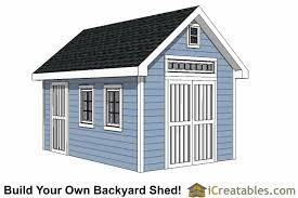 10x16 traditional victorian garden shed plans icreatables com