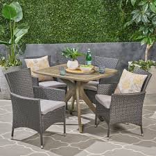 Montserrat Outdoor 5 Piece Wood And Wicker Dining Set By Christopher ... Outdoor Wicker Ding Set Cape Cod Leste 5piece Tuck In Boulevard Ipirations Artiss 2x Rattan Chairs Fniture Garden Patio Louis French Antique White Back Chair Naturally Cane And Plantation Full Round Bay Gallery Store Shop Safavieh Woven Beacon Unfinished Natural Of 2 Pe Bah3927ntx2 Biscayne 7 Pc Alinum Resin Fortunoff Kubu Grey Dark Casa Bella Uk Target Australia Sebesi 2fox1600aset2