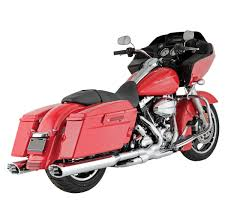 Vance And Hines Dresser Duals Black by Harley Davidson Touring Exhaust J U0026p Cycles