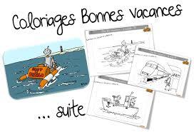 Vive Les Vacances Coloriage BonneColoriage