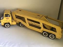 VINTAGE TONKA CAR Carrier Pressed Steel Toy Truck Trailer Hauler ... Dickie Toy Dhl Yellow Man Truck Lorry Semi Trailer Model Youtube Toy Wood Tractor Trailer Truck Semi Etsy Beli Daymart Toys Remote Control Cars Mack Mainan Anak Amazoncom Off Road Police Transporter 132 Childrens Long Haul Trucker Newray Ca Inc Shop Velocity Power Freight Friction Ready To Harga Online Hot Pixar Lightning Mc Queen Chick Hicks Bruder Tga Low Loader With Jcb Backhoe On Motsports Race Car Kids Kelebihan Dan Affluent Town 1 Skala 64 Die Cast Scania Carrier Cek Boys Model Pull Back With
