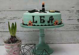 makeup torte zum 14 geburtstag meiner jüngsten cuplovecake