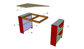 kids desk plans myoutdoorplans free woodworking plans and