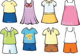 Clothes For Children Royalty Free Stock Vector Art Amp More Images