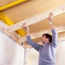 faire un faux plafond en bois menuiserie image et conseil
