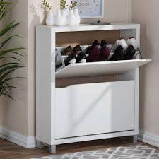 Baxton Shoe Storage Cabinet by Wood Shoe Storage Closet Storage U0026 Organization The Home Depot