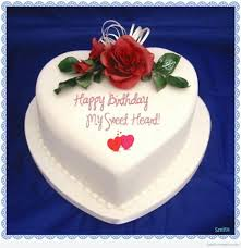 Birthday cake for boyfriend Wishes and Messages for Lover Birthday