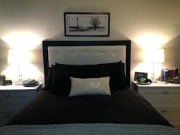 Headboard Lights For Reading by Headboard With Lights Diy Pallet Headboard With Lights Oslo Round