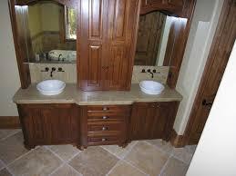 Home Depot Two Sink Vanity by Bathroom Sink Awesome Bathroom Vanity Double Sink Tuscany Teak