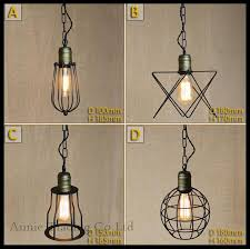 Metal Pendant Lamp Shades AC100 240V Modern Mesh Shade Lights