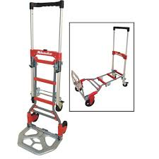Milwaukee Hand Trucks 73333 2 In 1 Fold Up Convertible Truck | EBay Appliance Truck 4th Wheel Attachment And Handle Release Milwaukee Hand Folding 30080s 2way Convertible Sears Hand Truck 3500 Lb Am Tools Equipment Rental Milwaukee Trucks 32152 With 8inch Puncture Trucks Dollies Lowes Canada 40875 2tank Welding Cylinder Brand Ebay Amazoncom 60137 4in1 Roughneck Industrial 1200lb Review 800 Lb Capacity Phandle Truckdc47118 The Home Depot