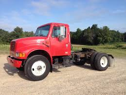 100 Day Cab Trucks For Sale 2002 International 4900 Single Axle Truck DT466E