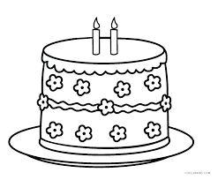 coloring page birthday cake birthday cake pictures to color birthday cake coloring pages printable page picture