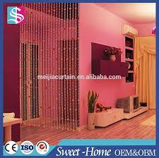 Doorway Beaded Curtains Wood by Metal Hanging Door Beads Curtain Metal Hanging Door Beads Curtain