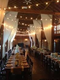 Globe String Lights Indoor Wedding