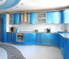 Kitchen Modern Cabinets Colors Blue Color Kitchen Cabinets Unique Inheritance Design Blue Modular