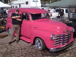 100 Panel Trucks 1953 Chevy Truck Pink Chevy Truck Accessories And