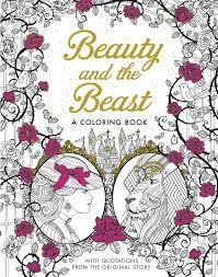 Beauty And The Beast A Coloring Book Classic Gabrielle Suzanne Barbot De Villeneuve 9781626868854 Amazon Books