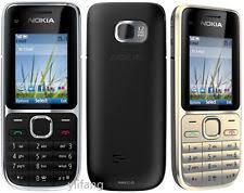 New Nokia C Series C2 01 Black Gold Unlocked English Hebrew Keyboard Bar Phone