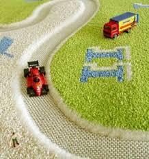 tapis de jeux voitures tapis enfant circuit course voiture vert tapis enfant 3d