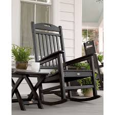 Trex Outdoor Furniture Yacht Club Plastic Rocking Chair With Slat ... Hampton Bay Black Wood Outdoor Rocking Chairit130828b The Home Depot Garden Tasures Chair With Slat Seat At Lowescom Amazoncom Casart Indoor Wooden Porch Chairs Lowes White Patio Wicker Rocker Wido 3 Piece Set 2 X Black Rocking Chair And Table Garden Patio Pool Ebay Graphics Of Imposing Walmart Recliner Sale Highwood Usa Lehigh Recycled Plastic Inoutdoor 3pc Set With Cushion Shop Intertional Concepts