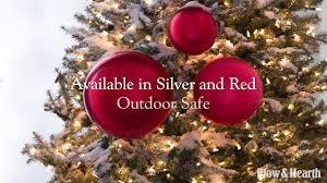 Oversized Shatterproof Christmas Ball Ornaments Set Of 3 SKU 65D28