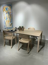 team 7 essgruppe tisch tak fix 200x100cm 4 stühle eiche weißöl