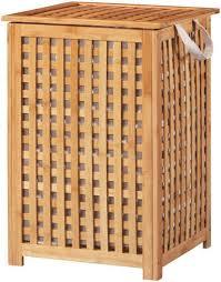 welltime wäschekorb bambus 40 cm breit