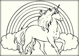 Download Unicorn Coloring Sheet To Print