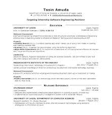Technical Engineer Resume Format For Freshers General Software Resumes Fresher