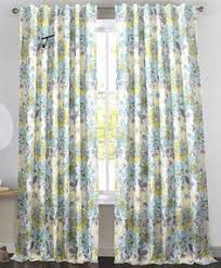 Dkny Mosaic Curtain Panels by Envogue Floral Window Curtain Panels Set Of 2 Drapes Pair 96