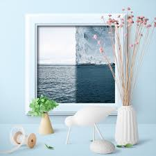 100 Scandinavian Modern Home US 784 Iceberg Poster Canvas Painting Nordic Art Prints Seascape Wall Picture For Living Room Decor Unframed In Painting