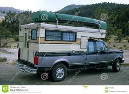 100 Pickup Truck Camper Camper 2 Stock Image Image Of Boot Auto Freedom