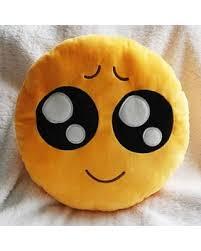 Spectacular Deal on Hughapy 35cm Emoji Smiley Emoticon Yellow