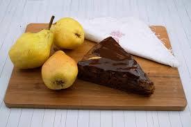 schokolade birnen kuchen mein wunderbarer kochsalon