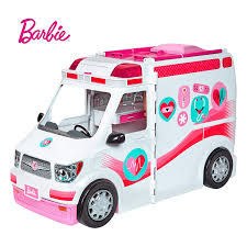 Amazoncom Barbie Sister Cycling Fun Playset Toys Games
