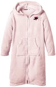 robe de chambre avec fermeture eclair lina pink amour robe de chambre fille fr 10 ans