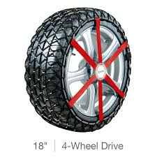 Michelin Snow Chains For 18