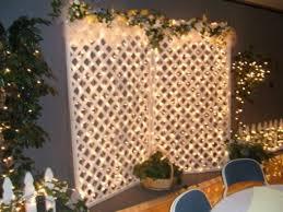 Lattice Wall Rustic Wedding Decoration
