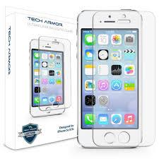Amazon iPhone 5 Glass Screen Protector Tech Armor Ballistic