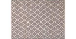handgewebter teppich 250x350 cm grau